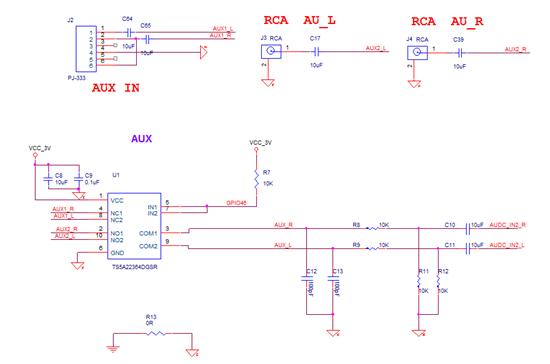 """使用<a href=""""http://www.ti.com.cn/product/cn/TS5A22364"""" target=""""extwin"""">TS5A22364</a>做音频信号二选一,音频信号输入输出都做了电容隔直,电压接3V,当其中一个通道输入信号较小时(不会超过输入阈值),切换到另一个通道,也能从功放中听到前一个通道输入信号的声音,请教下为什么会出现这类问题?</p><div style=""""clear:both;&quot"""