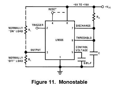 lm555的单稳态电路输出问题