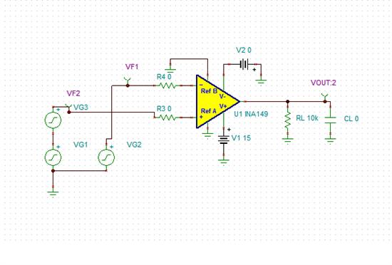 关于ina149单电源供电问题