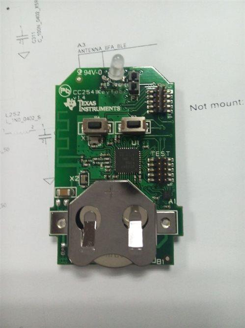 cc2541keyfob电路板怎么改,才可以使用cc debugger对其进行供电?